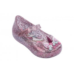 Barbie Rainbow Sapatilha (Rosa Glitter)